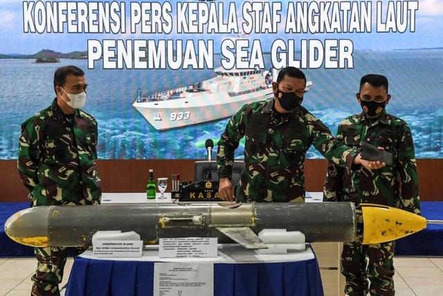 Trung Quốc có thể lộ tin mật sau vụ Indonesia tìm thấy thiết bị lặn - 1