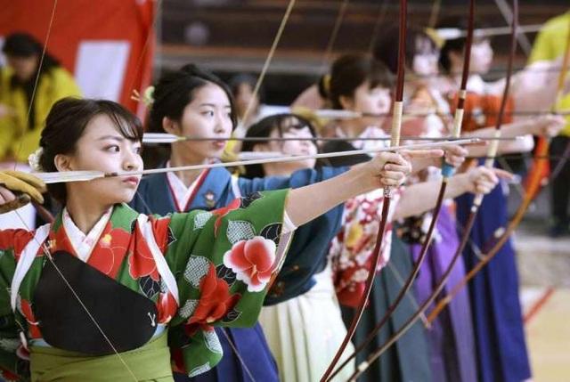 Cuộc thi bắn cung có lịch sử 400 năm tại Kyoto - 1