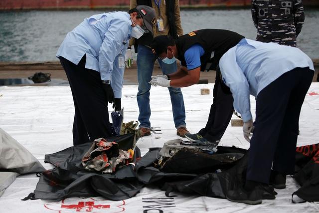 Xác định được vị trí hộp đen, Indonesia chạy đua tìm máy bay rơi - 12