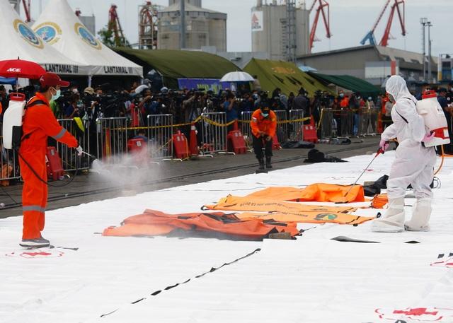 Xác định được vị trí hộp đen, Indonesia chạy đua tìm máy bay rơi - 10