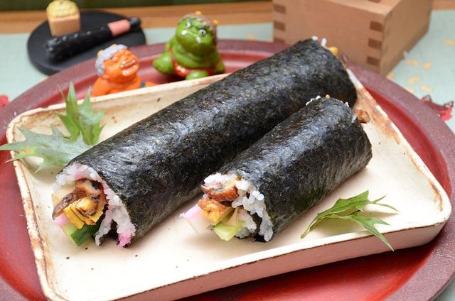 Vì sao người Nhật không nói chuyện khi ăn ehomaki? - 1