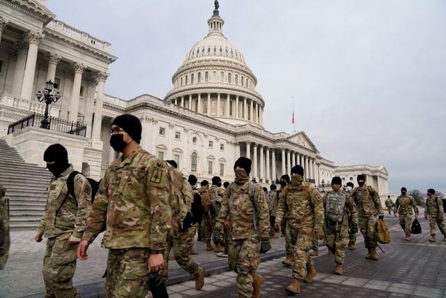 25.000 vệ binh quốc gia bảo vệ lễ nhậm chức của ông Biden - 1
