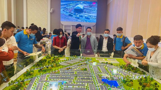 Sôi động giao dịch dự án khu đô thị PNR Estella - 2