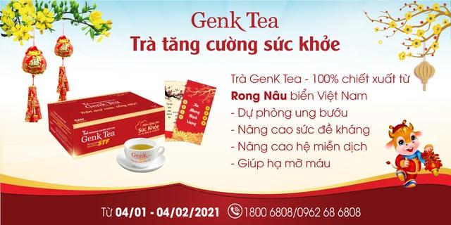Quà Tết tặng mẹ cha - Genk Tea tăng cường sức khỏe, vẹn tròn chữ hiếu - 2