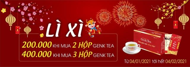 Quà Tết tặng mẹ cha - Genk Tea tăng cường sức khỏe, vẹn tròn chữ hiếu - 3
