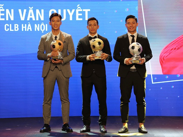 Nguyễn Văn Quyết giành Quả bóng vàng Việt Nam năm 2020 - 2