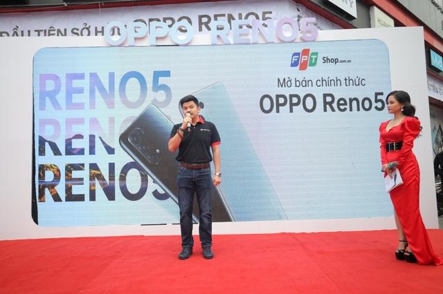 OPPO Reno5 ưu đãi hấp dẫn tại FPT Shop tri ân khách hàng Tết 2021 - 2
