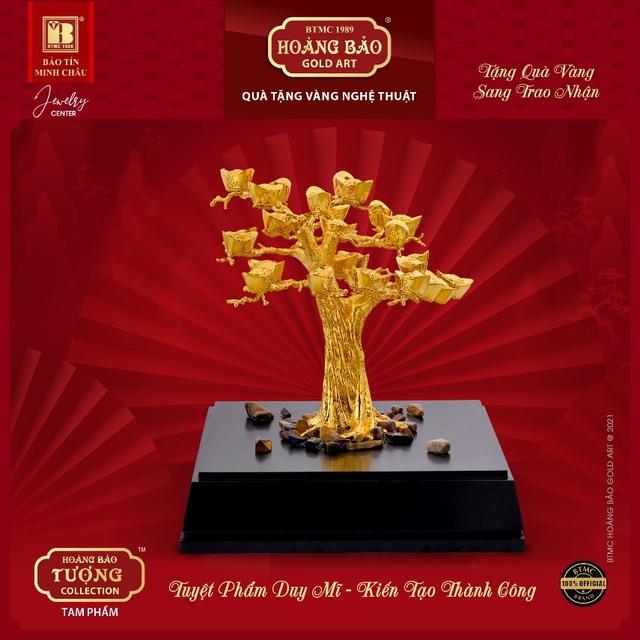 Tặng quà bằng vàng trở thành xu thế thời thượng - 3