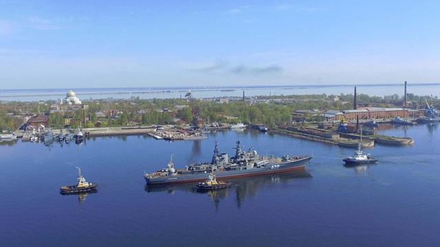 Cựu chỉ huy khu trục hạm Nga bị tố đánh cắp 2 chân vịt nặng 26 tấn - 1