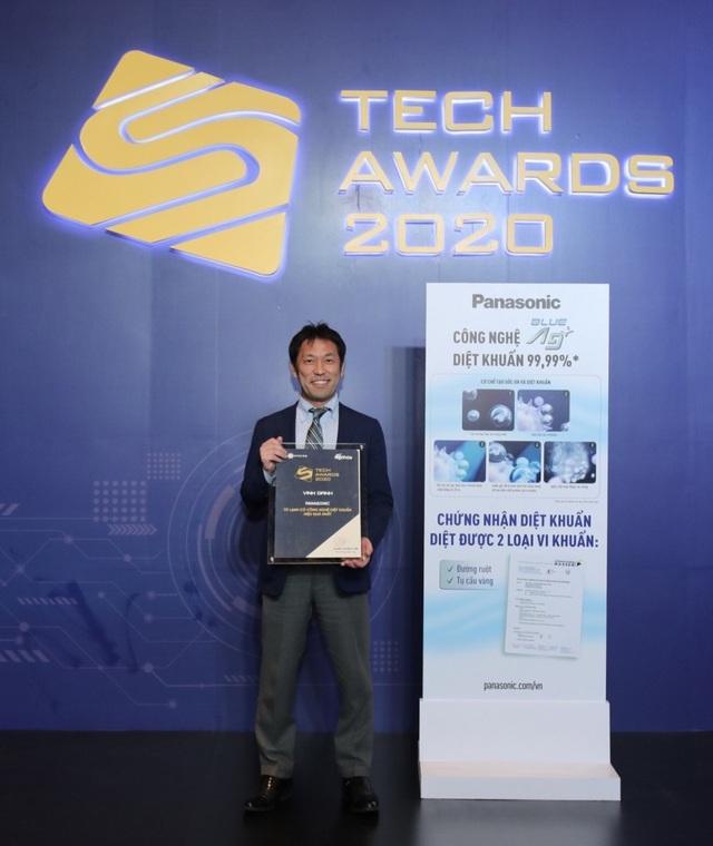 Panasonic đạt danh hiệu Tủ lạnh có công nghệ diệt khuẩn hiệu quả nhất tại Tech Award - 1