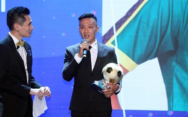 Những khoảnh khắc đẹp trong đêm trao giải Quả bóng vàng Việt Nam - 8