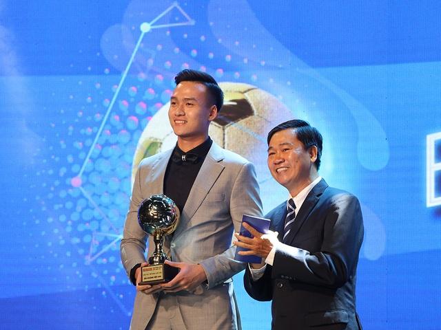 Những khoảnh khắc đẹp trong đêm trao giải Quả bóng vàng Việt Nam - 6