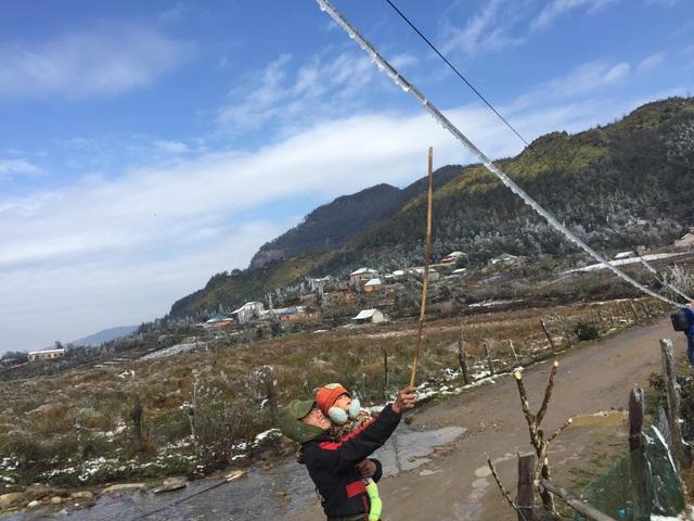 Hình ảnh đẹp nhưng buồn sau trận mưa tuyết ở vùng cao Ý Tý - 12