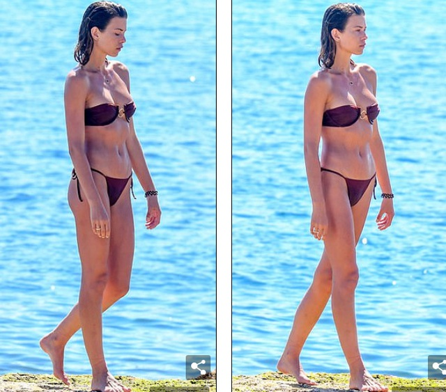 Siêu mẫu Georgia Fowler nổi bật trên bãi biển khi diện bikini gợi cảm - 4