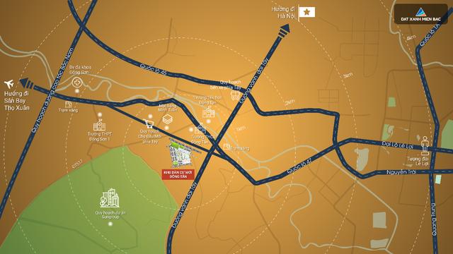 4 lợi thế vàng của khu dân cư Đông Tân, thành phố Thanh Hóa - 1
