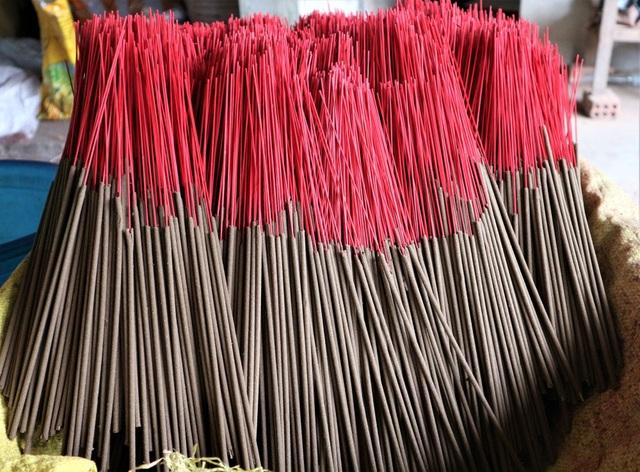 Làng nghề làm nhang lớn nhất xứ Quảng hối hả vào vụ Tết - 5
