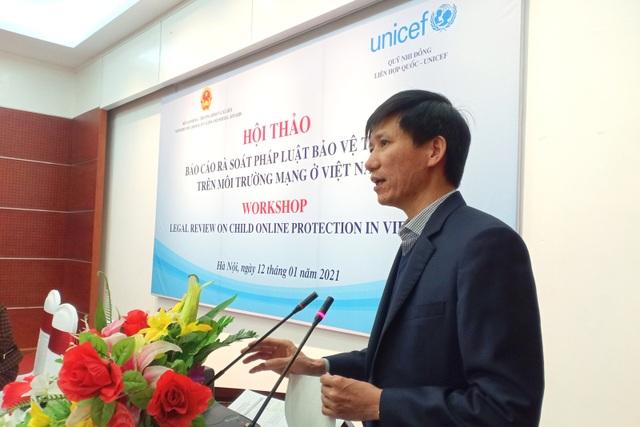 Báo cáo rà soát pháp luật về bảo vệ trẻ em trên môi trường mạng - 2