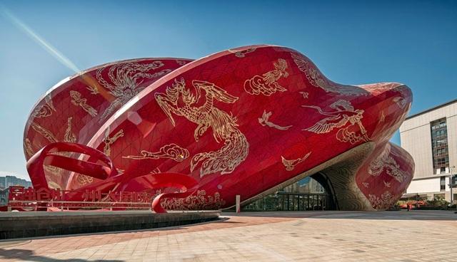 Công trình bị chê xấu nhất Trung Quốc được ví như chiếc chăn bông cỡ lớn - 1