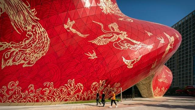 Công trình bị chê xấu nhất Trung Quốc được ví như chiếc chăn bông cỡ lớn - 3