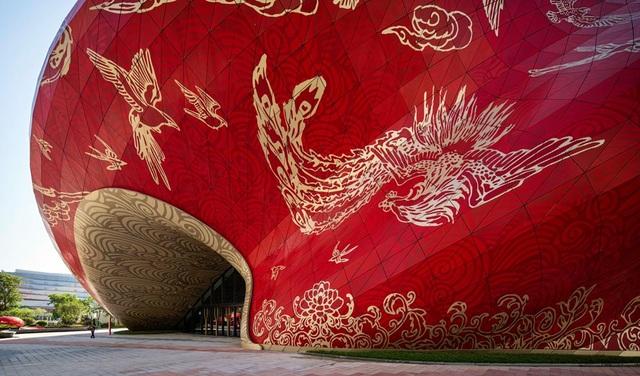 Công trình bị chê xấu nhất Trung Quốc được ví như chiếc chăn bông cỡ lớn - 4