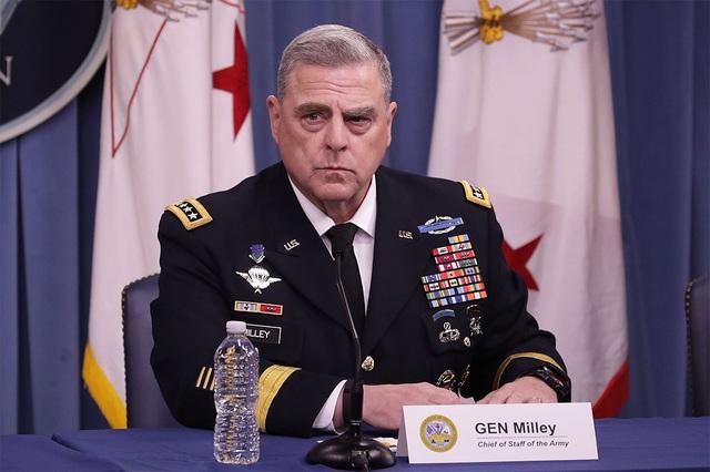 Quân đội Mỹ ra tuyên bố hiếm hoi về vụ bạo loạn ở quốc hội - 1