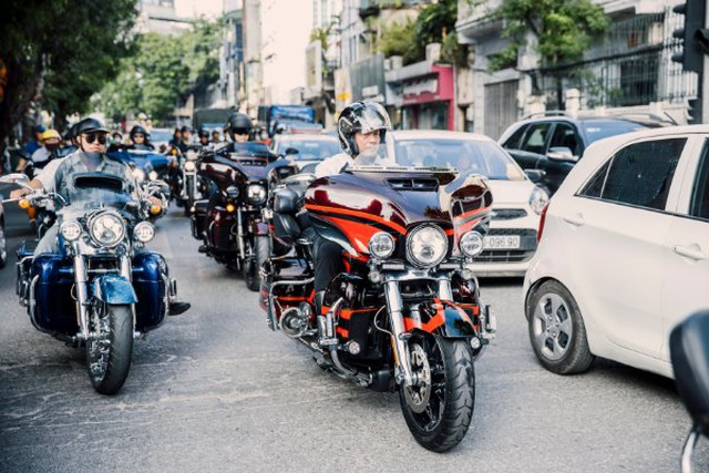 Giao lưu CLB Harley tại lễ mở bán phân khu Phú Gia Times Garden Vĩnh Yên - 1