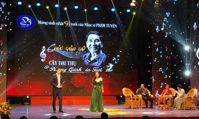 Đong đầy cảm xúc trong đêm nhạc mừng nhạc sĩ Phạm Tuyên tròn 91 tuổi - 5