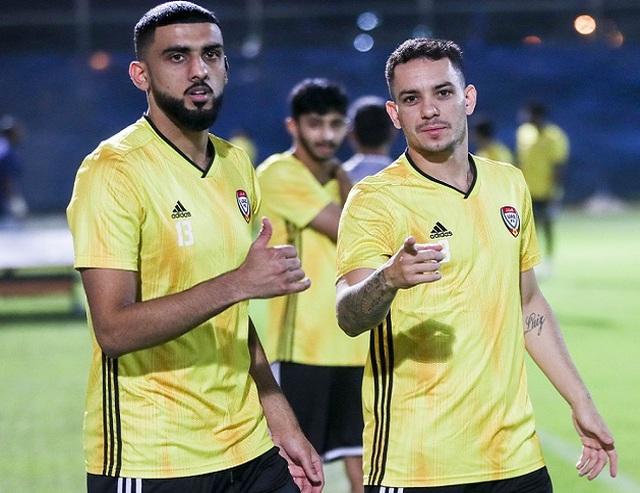 Các tuyển thủ UAE tự tin sẽ đánh bại đội tuyển Việt Nam - 1