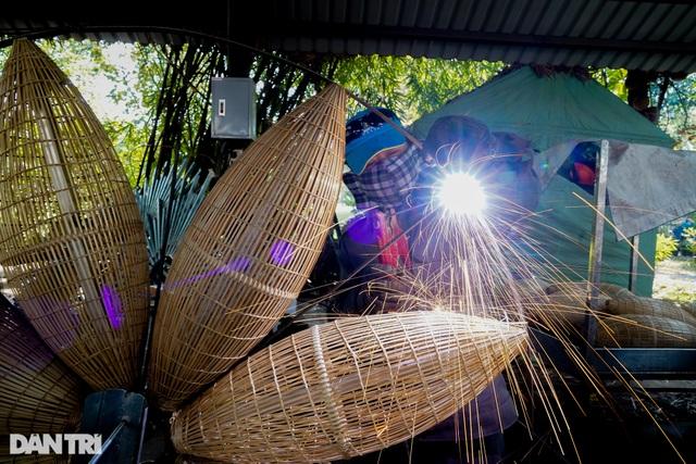 Đột nhập xưởng sản xuất linh vật đường hoa Nguyễn Huệ dịp Tết Tân Sửu - 10