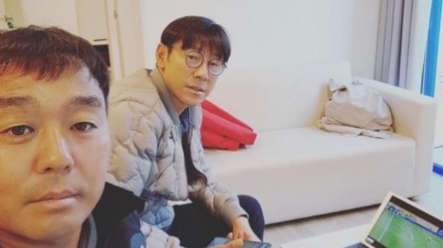 HLV Shin Tae-yong bắt đầu trinh sát các đối thủ của Indonesia - 2