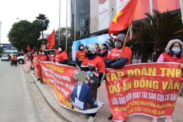 Cư dân vỡ mộng, liên tục tụ tập đòi quyền lợi tại dự án VIP nhất Hà Nam - 3