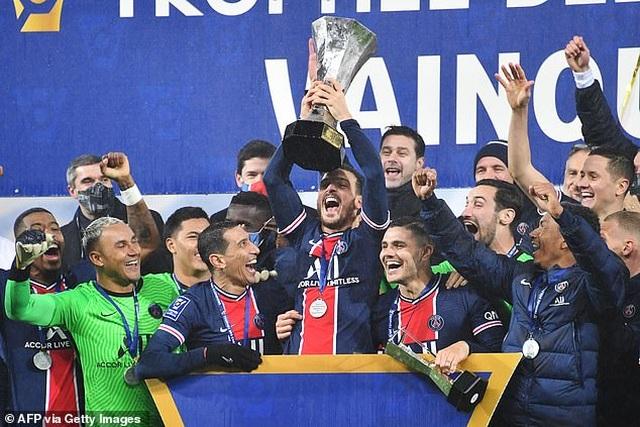 Neymar tỏa sáng, tân HLV Pochettino giành danh hiệu đầu tiên cùng PSG - 4