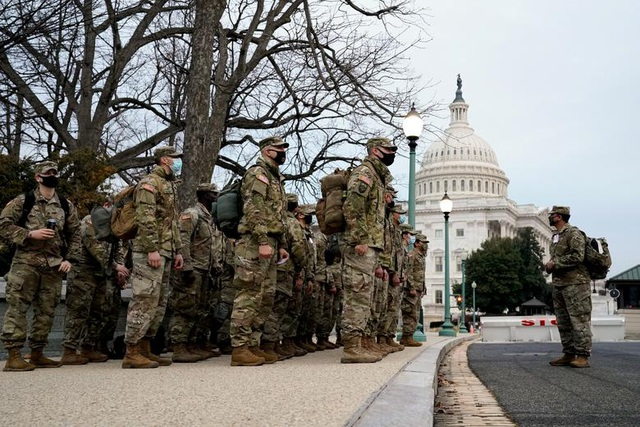 Nhà quốc hội Mỹ thành căn cứ quân sự trước thềm ông Biden nhậm chức - 1