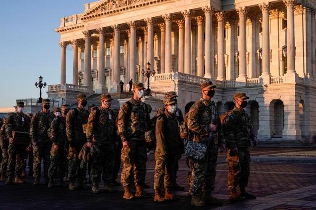 Nhà quốc hội Mỹ thành căn cứ quân sự trước thềm ông Biden nhậm chức - 3