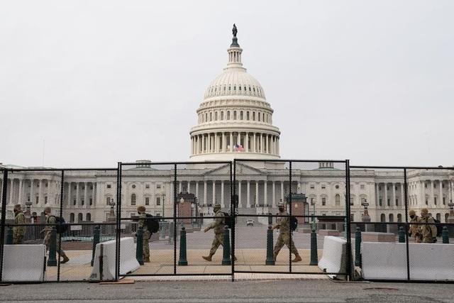 Nhà quốc hội Mỹ thành căn cứ quân sự trước thềm ông Biden nhậm chức - 4