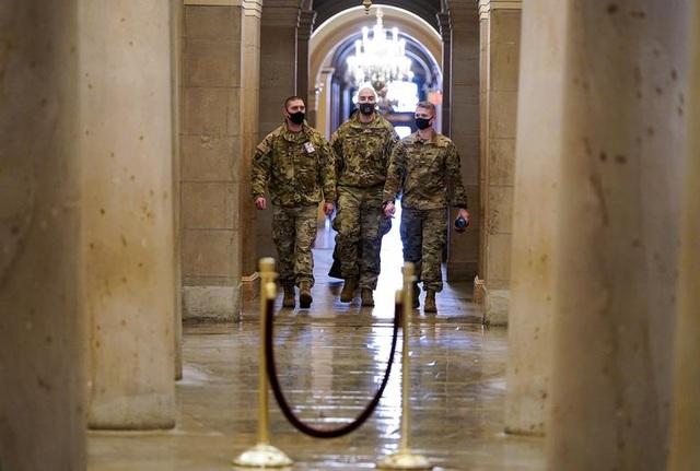 Nhà quốc hội Mỹ thành căn cứ quân sự trước thềm ông Biden nhậm chức - 6