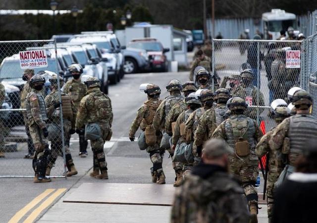 Nhà quốc hội Mỹ thành căn cứ quân sự trước thềm ông Biden nhậm chức - 7