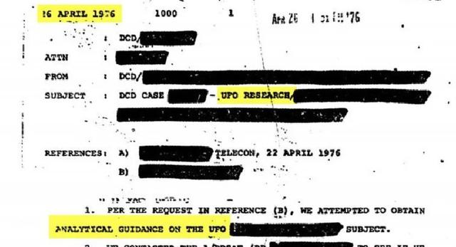 Hé lộ hàng trăm tài liệu liên quan đến UFO của CIA - 1