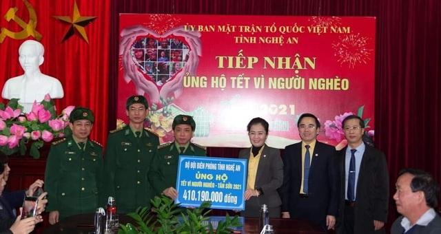 Tính đến ngày 13/1/2021, tổng số tiền đăng ký ủng hộ tại Ủy ban MTTQ tỉnh Nghệ An là 50,6 tỷ đồng.