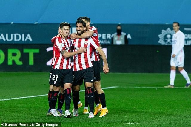 Thua Bilbao, Real Madrid tan mộng vô địch Siêu Cup Tây Ban Nha - 1