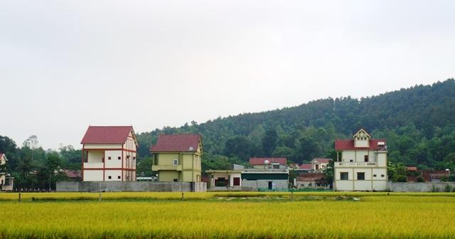 Một góc của làng Hòn Nen xã Mã Thành, huyện Yên Thành (Nghệ An)