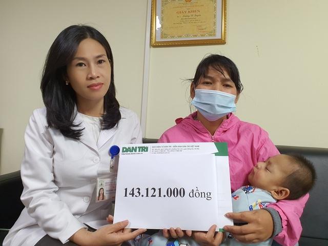 Bạn đọc tiếp tục giúp đỡ bé trai từ tâm lũ Quảng Trị ra Hà Nội chữa bệnh - 2