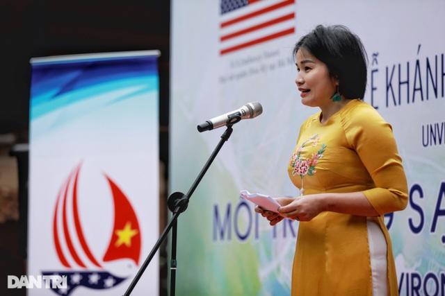 Đại sứ Mỹ khánh thành bức tranh tường 100m2 về chủ đề môi trường tại Hà Nội - 3