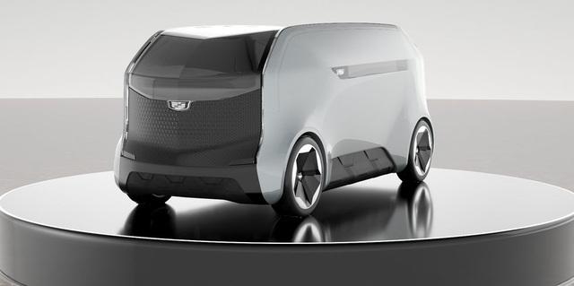 GM trình diễn ý tưởng ô tô tự lái và xe bay độc đáo - 1