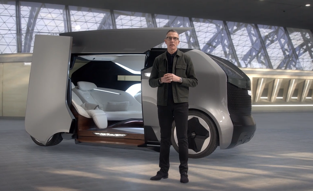 GM trình diễn ý tưởng ô tô tự lái và xe bay độc đáo - 3