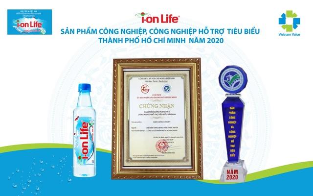 i-on Life vinh dự được bình chọn sản phẩm công nghiệp, công nghiệp hỗ trợ tiêu biểu TPHCM năm 2020 - 3