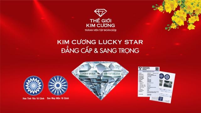 Trao gởi kim cương - Đón xuân yêu thương cùng Thế Giới Kim Cương - 2