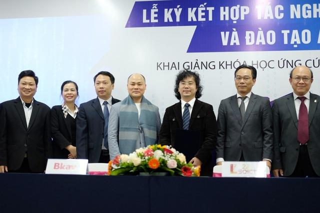 BKAV hợp tác cùng ĐH Bách khoa Hà Nội trong đào tạo an ninh mạng - 2