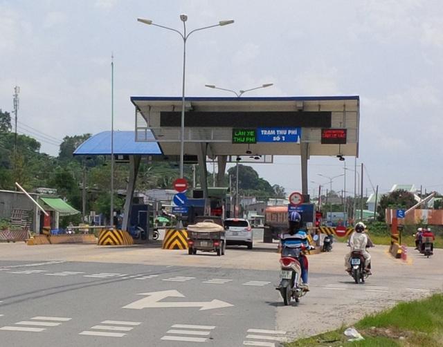 Các trạm thu phí thuộc dự án BOT đường ĐT 768 tạm dừng thu phí - 1