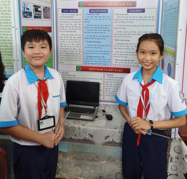 Học sinh lớp 8 bắt mạch sự thờ ơ của học sinh đối với di tích - 1